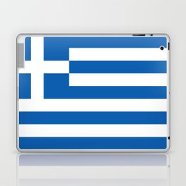 Flag of Greece, High Quality image Laptop & iPad Skin