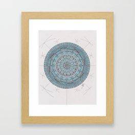 Mandala #1 Framed Art Print
