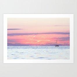Sailing to Dreamland Art Print