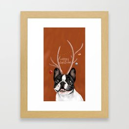 Beatriz : Christmas Framed Art Print
