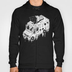 Melty Ice Cream Truck - sherbet Hoody