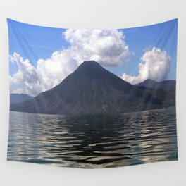 Lago de Atitlan, Guatemla Wall Tapestry