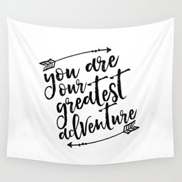 PRINTABLE Art,You Are Our Greatest Adventure,Arrow Print,Nursery Decor,Typography Print,Quotes Wall Tapestry