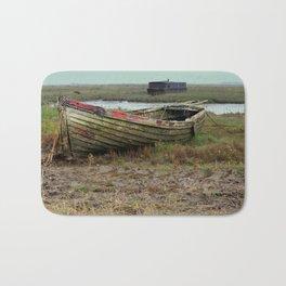 Old Boats Bath Mat