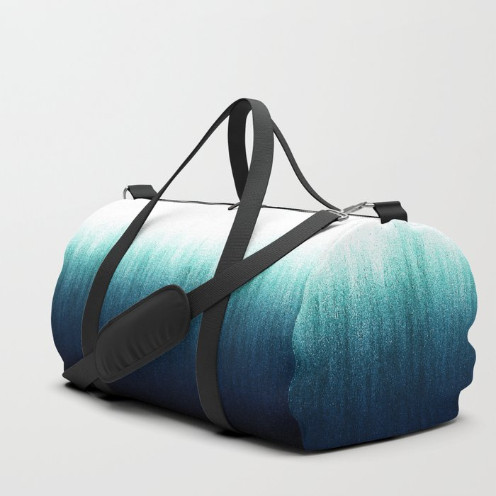 4235001d3 Teal Ombré Duffle Bag by caitlinworkman | Society6