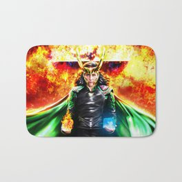 Loki - Ragnarok IV Eternal Flame Bath Mat
