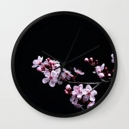 Flower Photography by David Brooke Martin Wall Clock