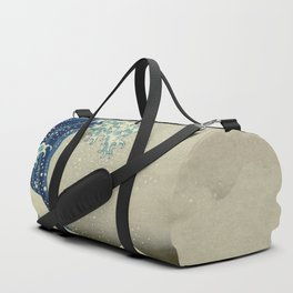 Great Wave Off Kanagawa (Kanagawa oki nami-ura or 神奈川沖浪裏) Duffle Bag
