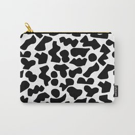 Shapes, Black and White Carry-All Pouch