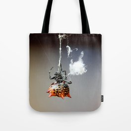Hanging by a thread-2 Tote Bag