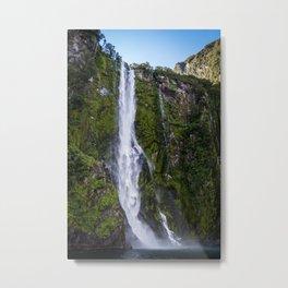 Waterfall.. Metal Print