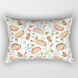 """Tacos are """"Hot Stuff"""" and we love them! Rectangular Pillow"""