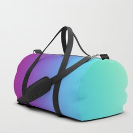 Multicolor Abstract Duffle Bag