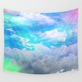 sea clouds Wall Tapestry