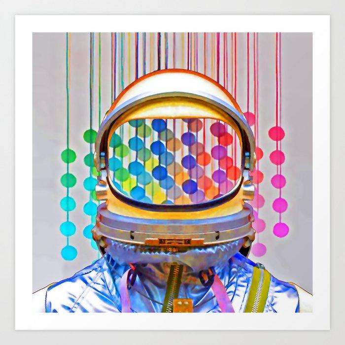 spacePOP Art Print