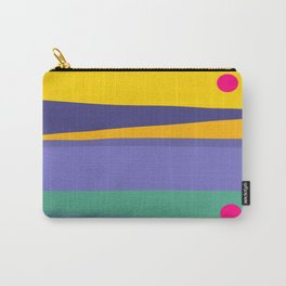 Twilight Stripes Carry-All Pouch