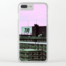 710 Clear iPhone Case