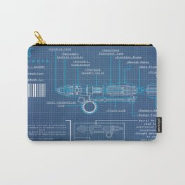 Riversong Screwdriver Blueprint Carry-All Pouch