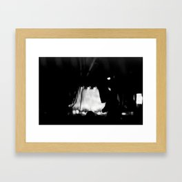 Light and Sound Box Framed Art Print