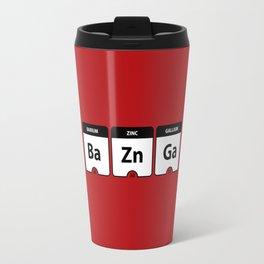 Bazinga Periodic Table Funny Quote Travel Mug