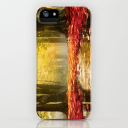 Cozy Forest iPhone Case