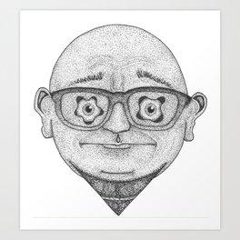 Oh. Hello. Art Print