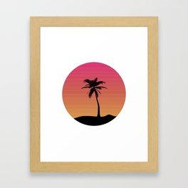 Lazy Summer Framed Art Print
