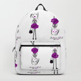 Leggy Girl Backpack