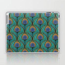 Glitzy Peacock Feathers Laptop & iPad Skin