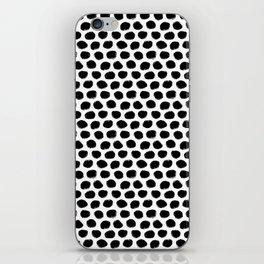 Beehive Black and White iPhone Skin