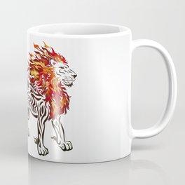 Lion of Fire Coffee Mug