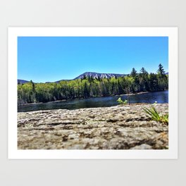 Springtime View of Sugarloaf (3) Art Print