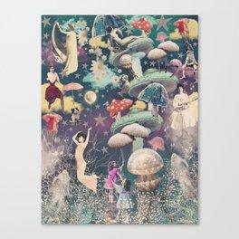 Ascending Collage Art Print Canvas Print