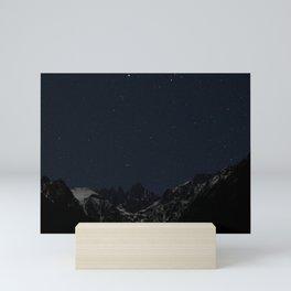 Mount Whitney at Night Mini Art Print