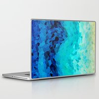 ocean Laptop & iPad Skins featuring INVITE TO BLUE by Catspaws
