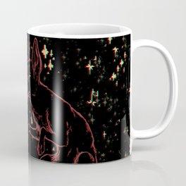 the wild pup Coffee Mug