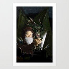 The Chamber of Airbrush Magic Art Print