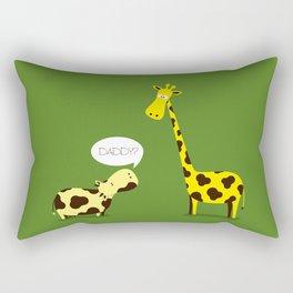 Daddy? Rectangular Pillow