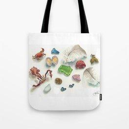 Denman Island Treasures Tote Bag