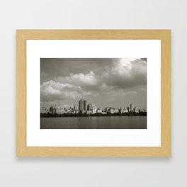 day 1 Framed Art Print