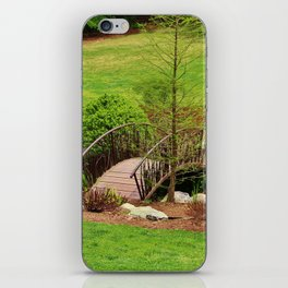 Small Arched Bridge iPhone Skin