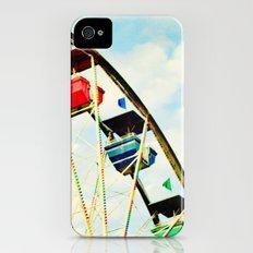 round and round we go Slim Case iPhone (4, 4s)
