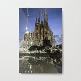 Sagrada Familia / Gaudí-Barcelona Metal Print