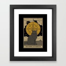 The Wheel of Fortune Framed Art Print