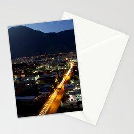 Caracas de noche Stationery Cards