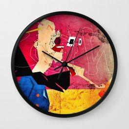 Exploding Soda Can X Wall Clock
