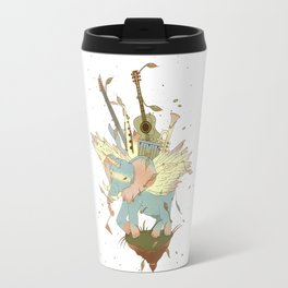 Elephant Caravan Travel Mug