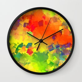 Happy party Wall Clock