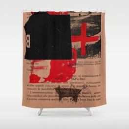 trascrizioni 8 Shower Curtain