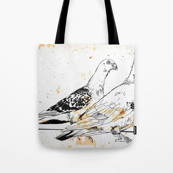 Bird flu Tote Bag